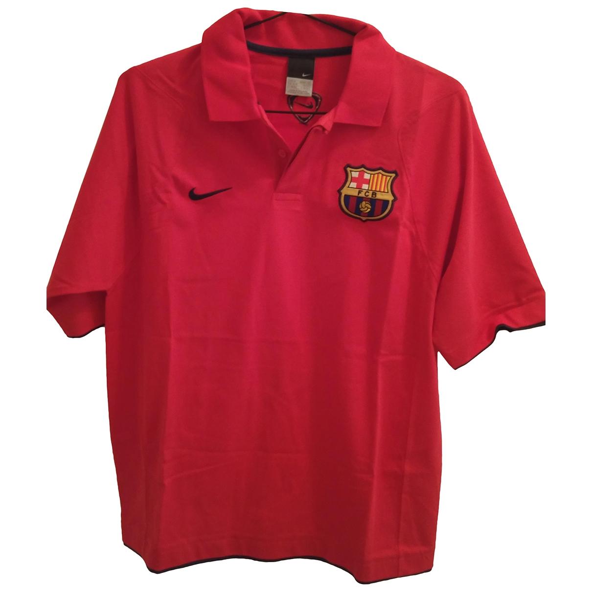 Nike \N Poloshirts in  Rot Baumwolle