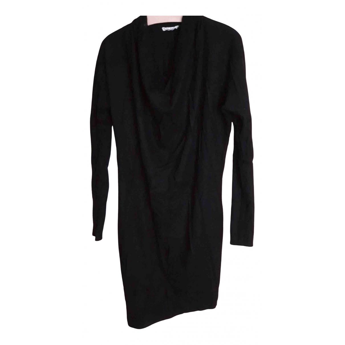Helmut Lang \N Black Wool dress for Women S International