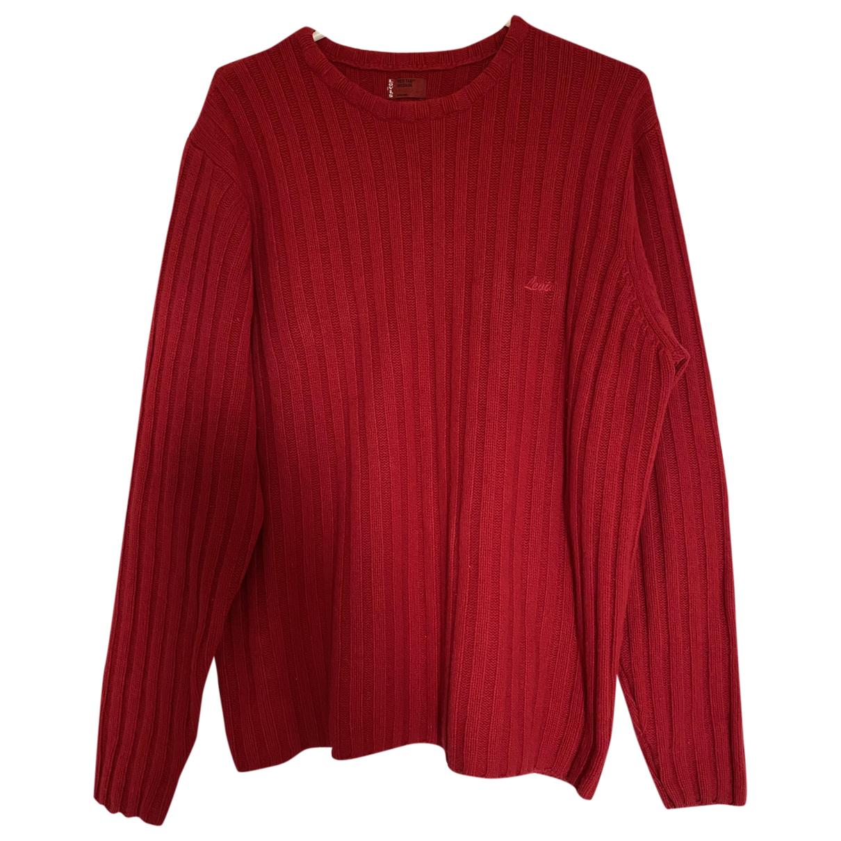 Levis \N Pullover.Westen.Sweatshirts  in  Rot Wolle