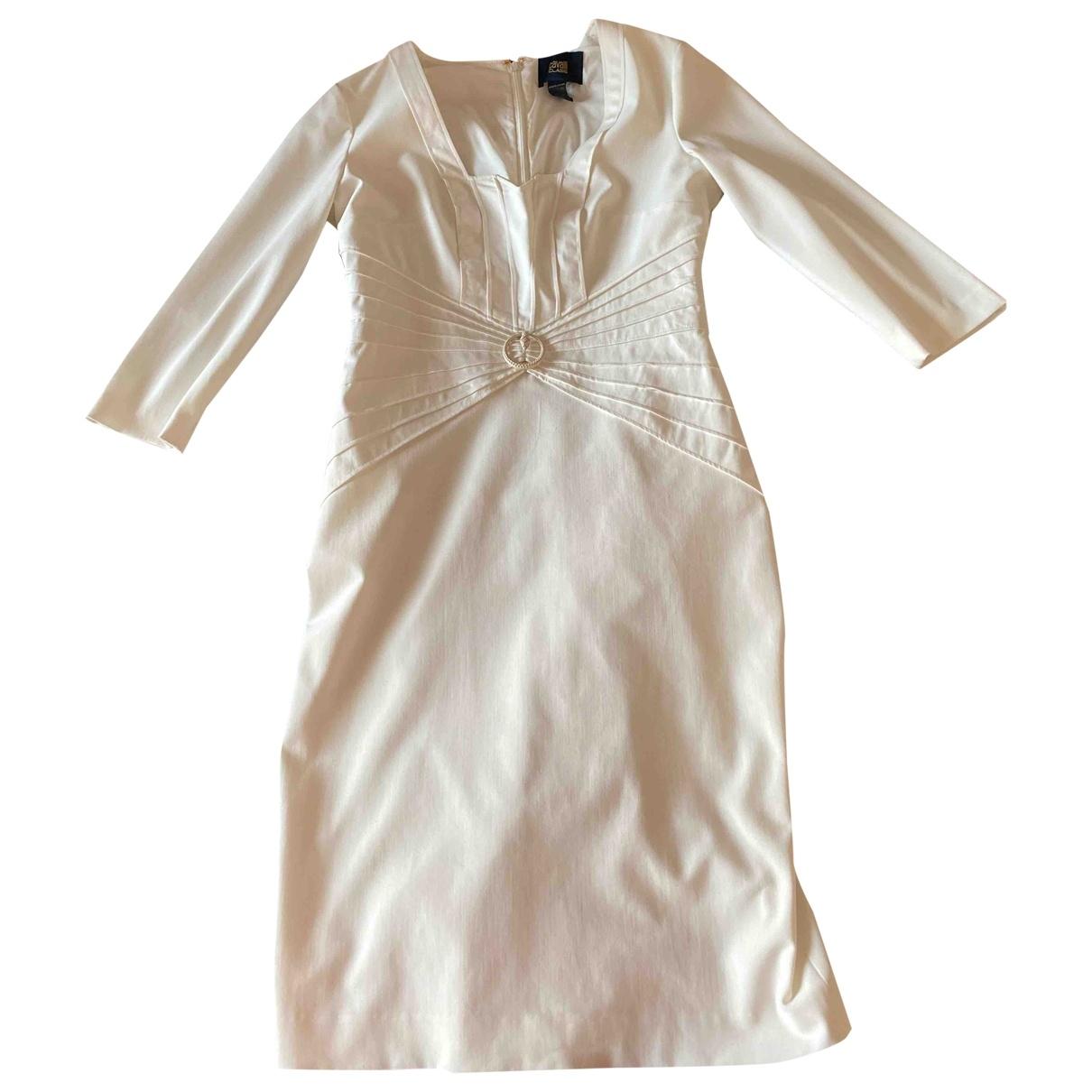 Class Cavalli \N Kleid in Baumwolle