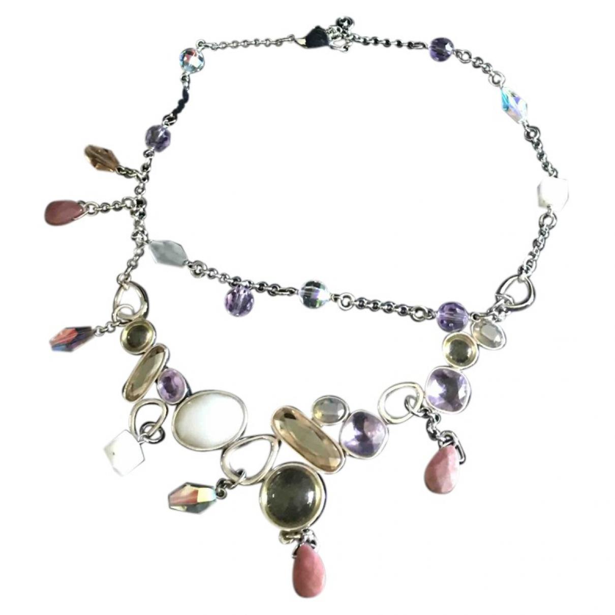 Swarovski - Pendentif   pour femme en metal - multicolore