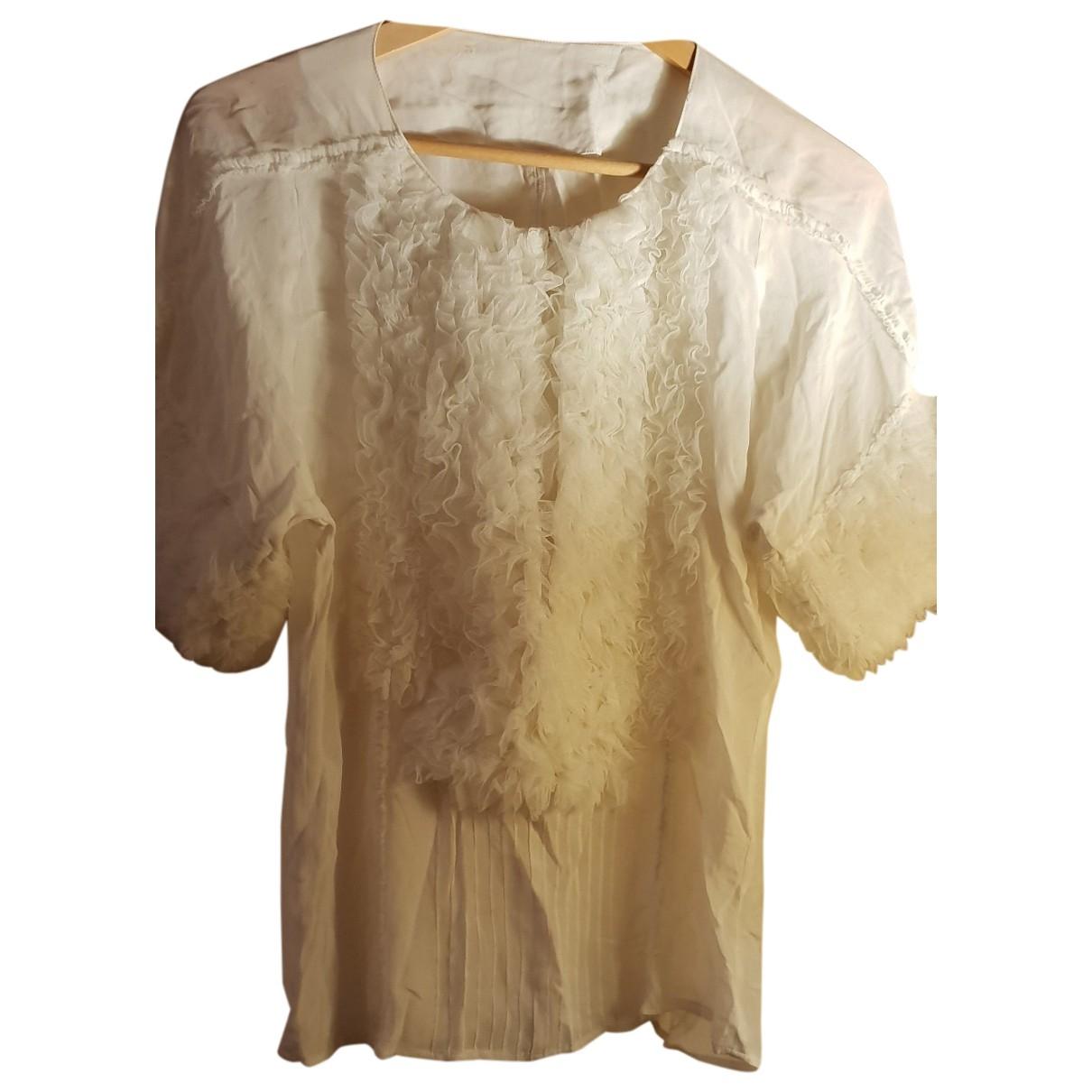 Camisa de Seda Elisabetta Franchi