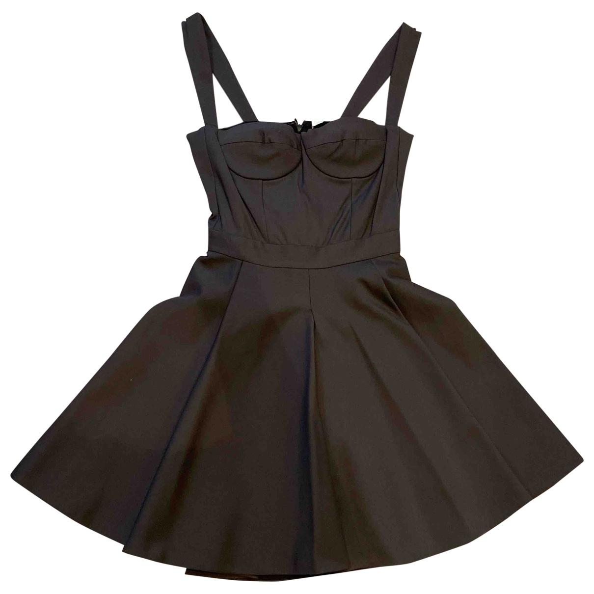 Amen Italy \N Grey Cotton - elasthane dress for Women S International