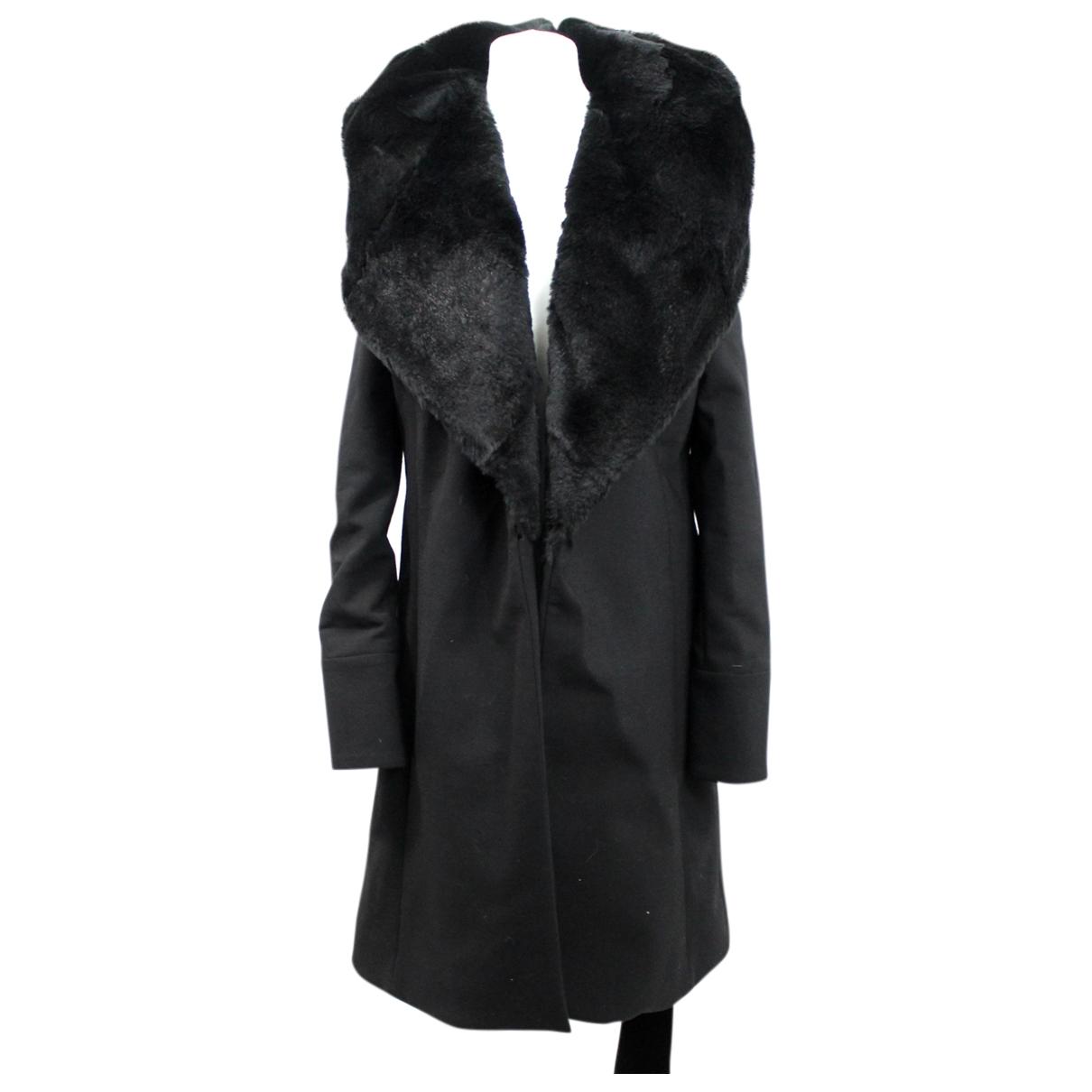 Amanda Wakeley - Manteau   pour femme en laine - noir