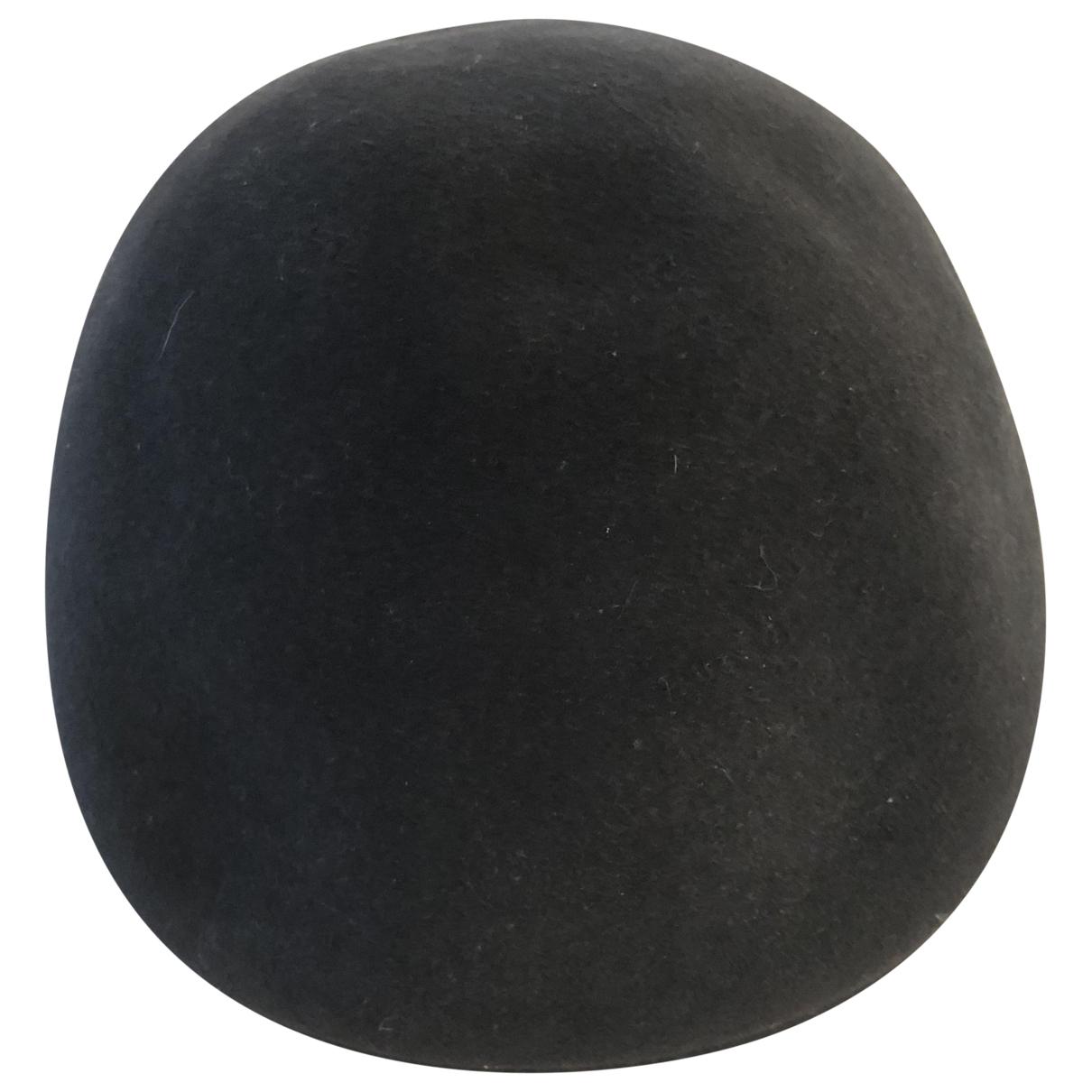 Borsalino \N Anthracite Wool hat & pull on hat for Men 59 cm