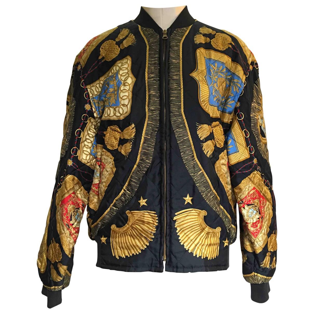 Hermes - Vestes.Blousons   pour homme en soie - multicolore