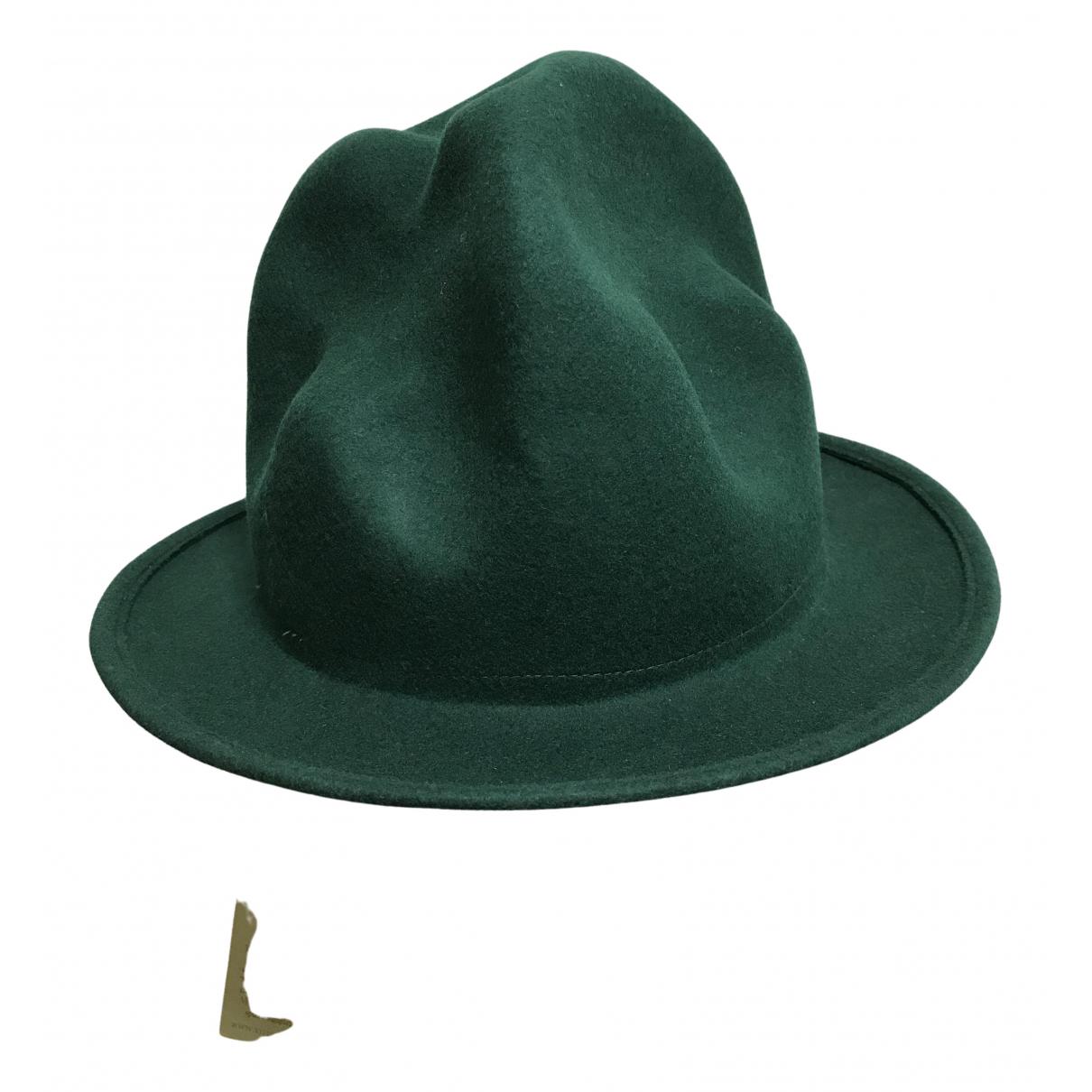 Vivienne Westwood - Chapeau & Bonnets   pour homme en laine - vert