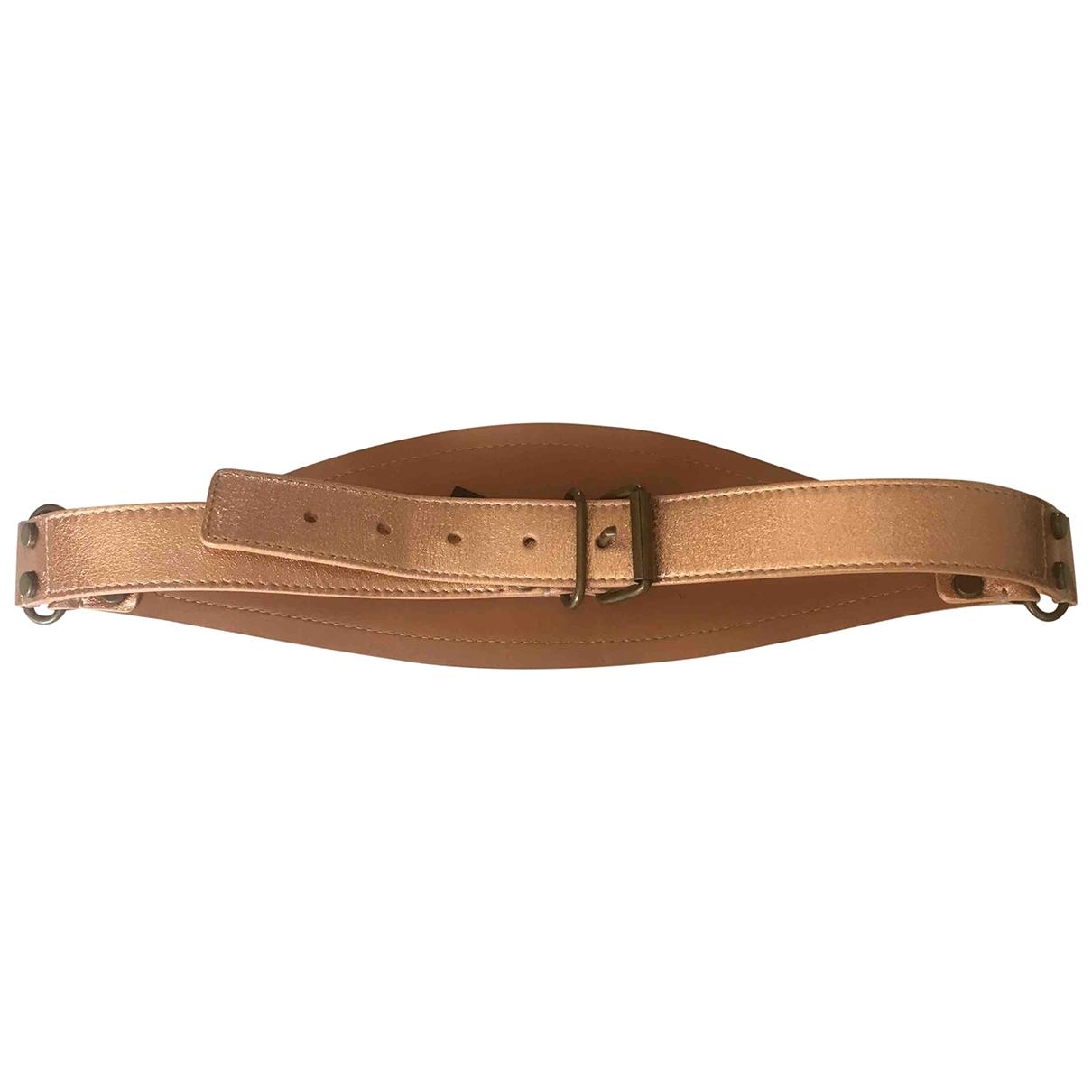 Lanvin \N Beige Leather belt for Women M International
