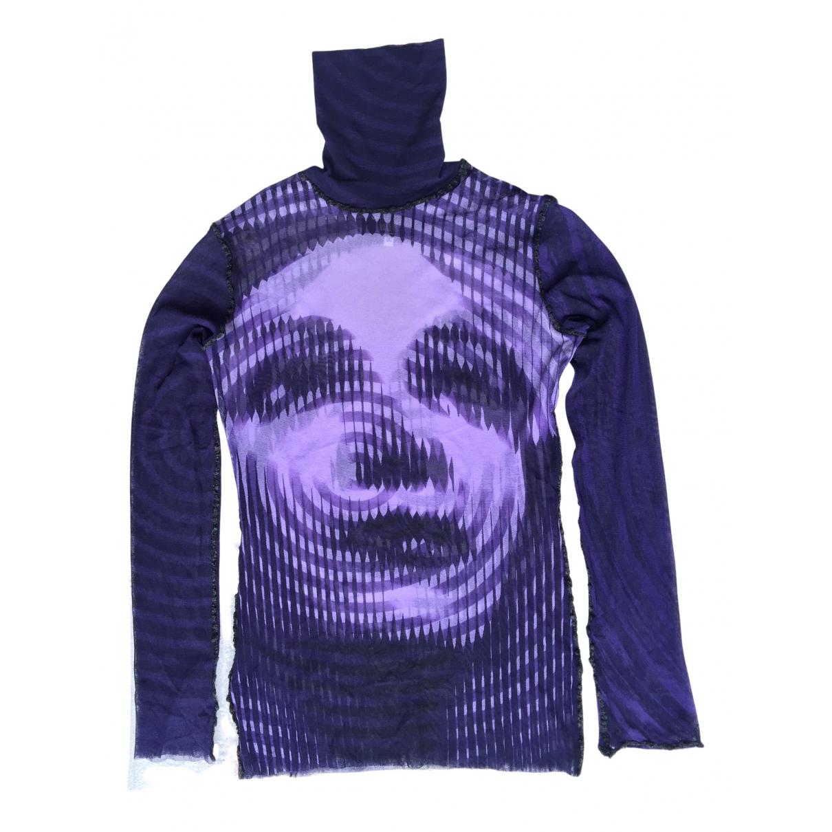 Jean Paul Gaultier \N Top in  Lila Synthetik