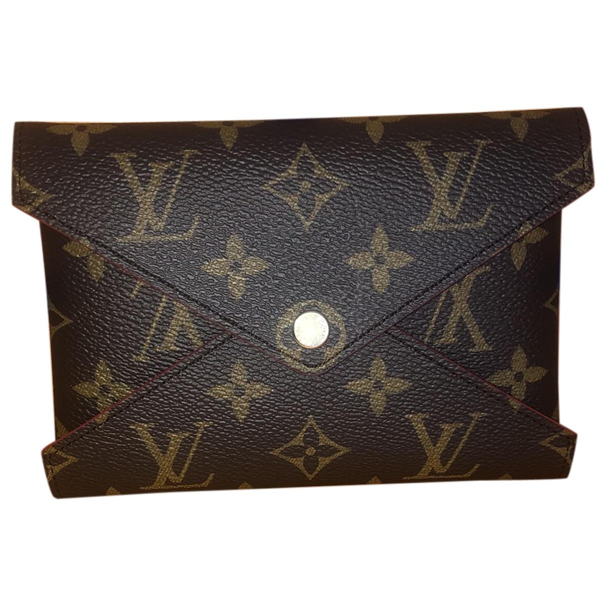 Louis Vuitton Kirigami Brown Cloth Purses, wallet & cases for Women \N