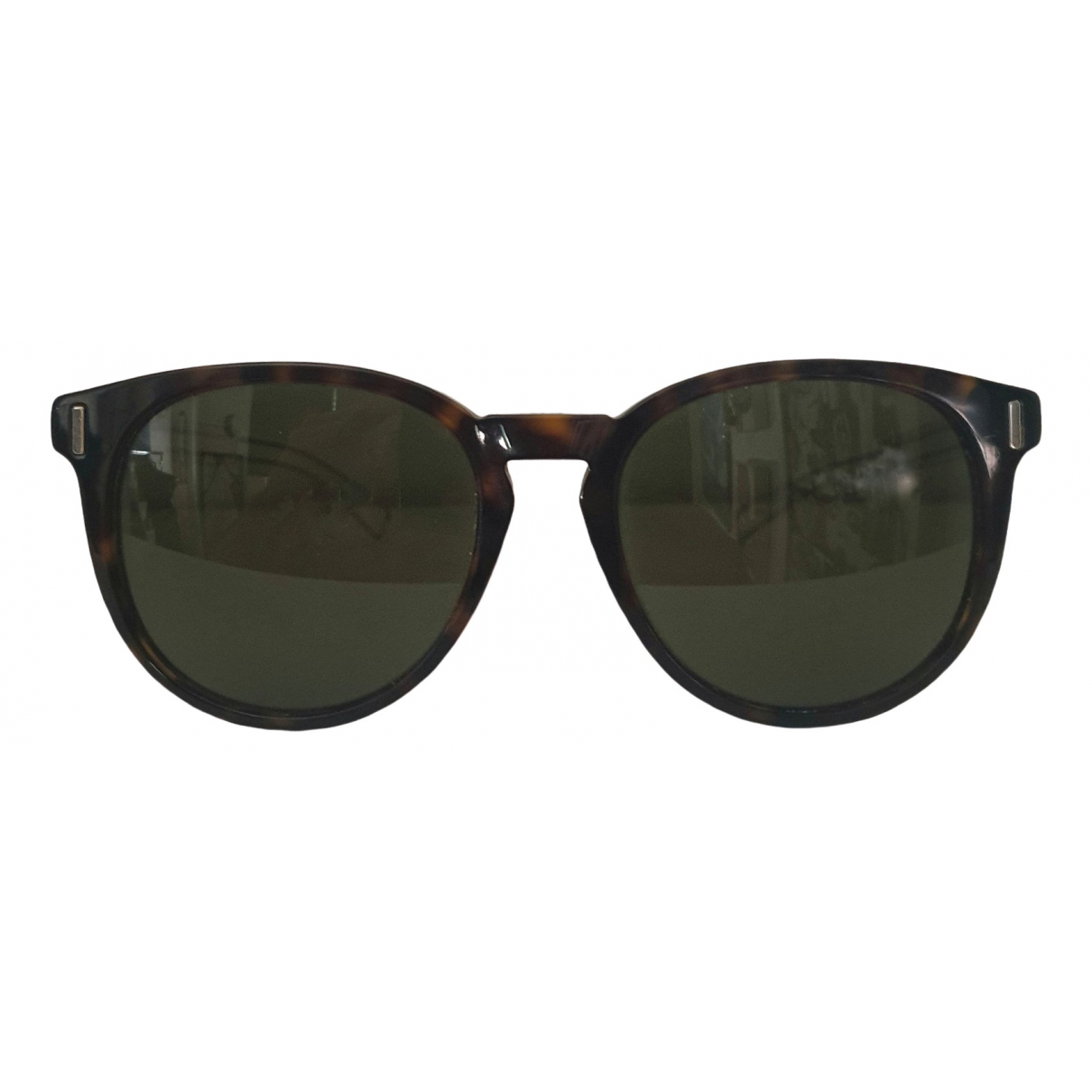 Dior Homme \N Brown Metal Sunglasses for Men \N