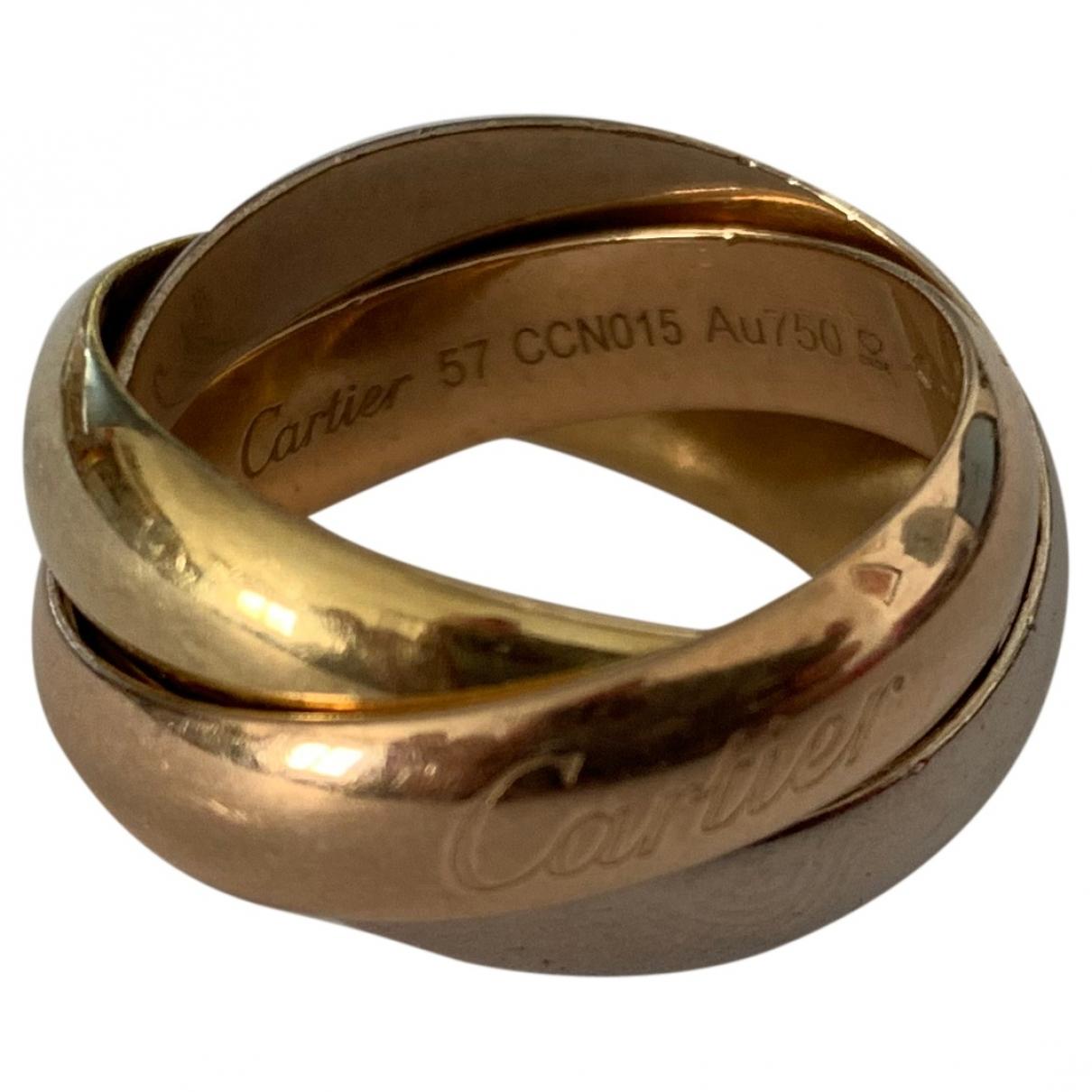 Cartier Trinity Ring in  Gelb Gelbgold