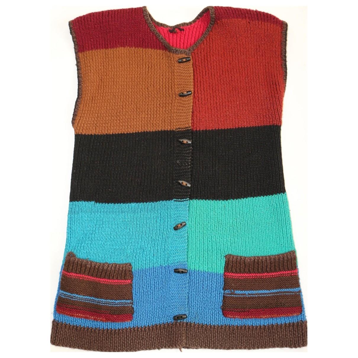 - Pull Hippie Chic pour femme en laine - multicolore