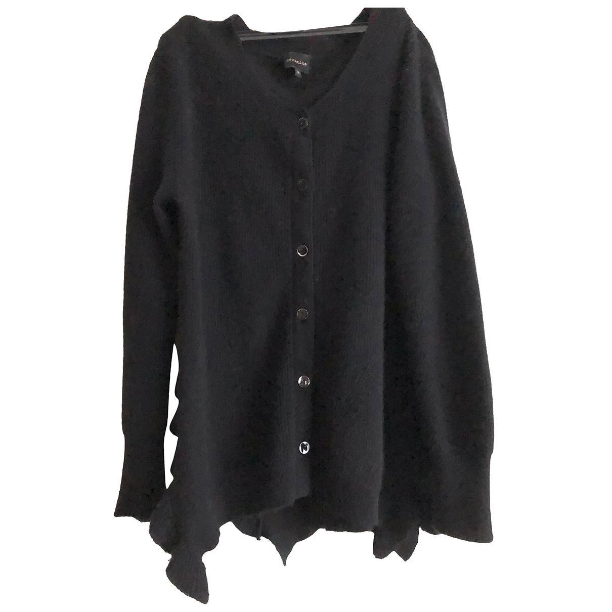 Berenice - Pull   pour femme en laine - noir