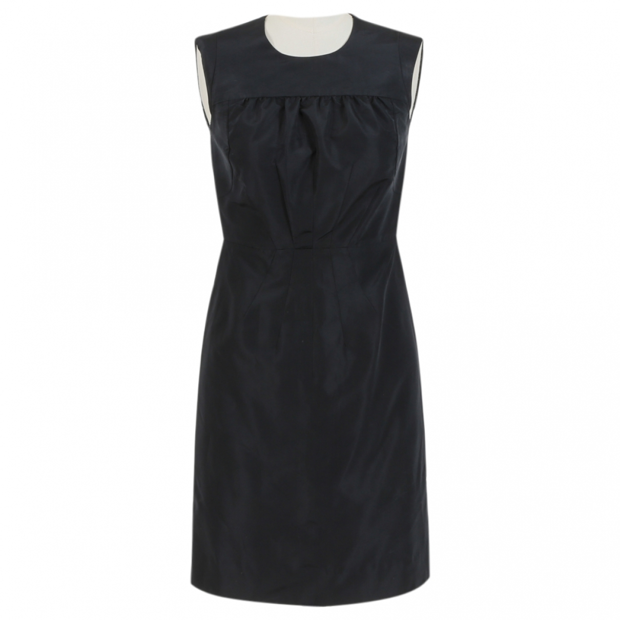 Prada \N Navy Silk dress for Women 40 FR