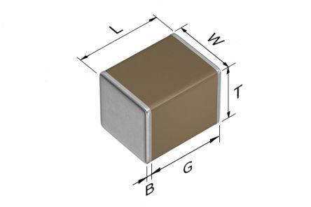 TDK 1210 (3225M) 220nF Multilayer Ceramic Capacitor MLCC 450V dc ±10% SMD CGA6M4X7T2W224K200AE (1000)