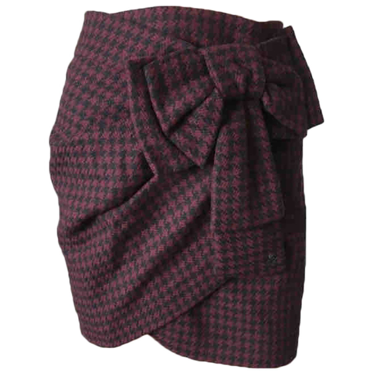 Cop Copine \N Burgundy Wool skirt for Women 36 FR
