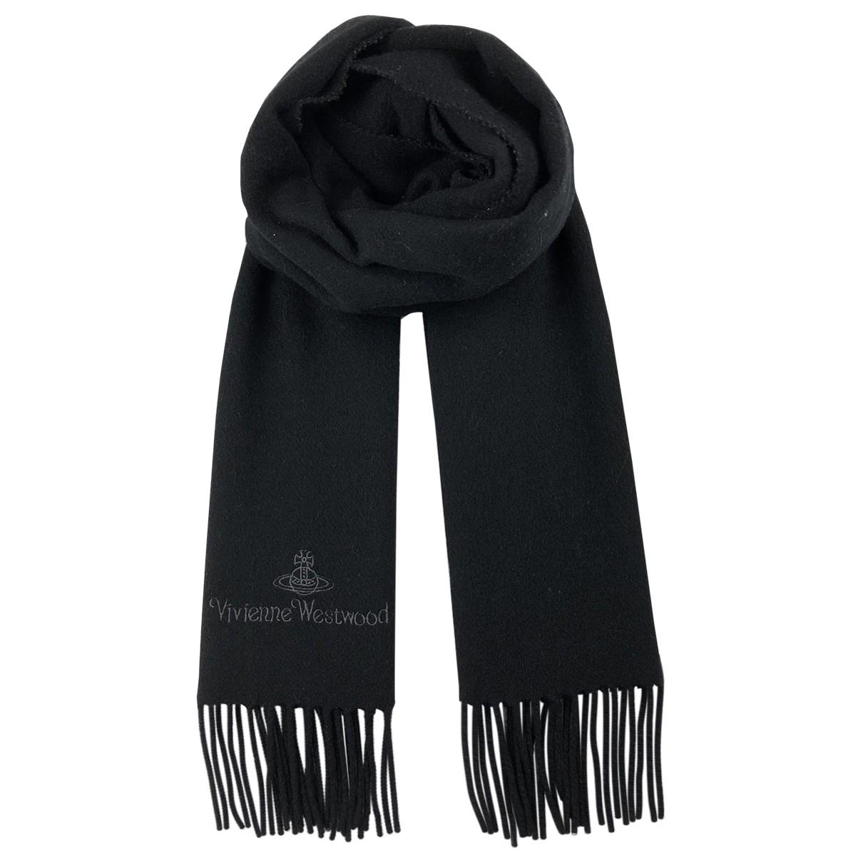 Vivienne Westwood \N Tuecher, Schal in  Schwarz Wolle