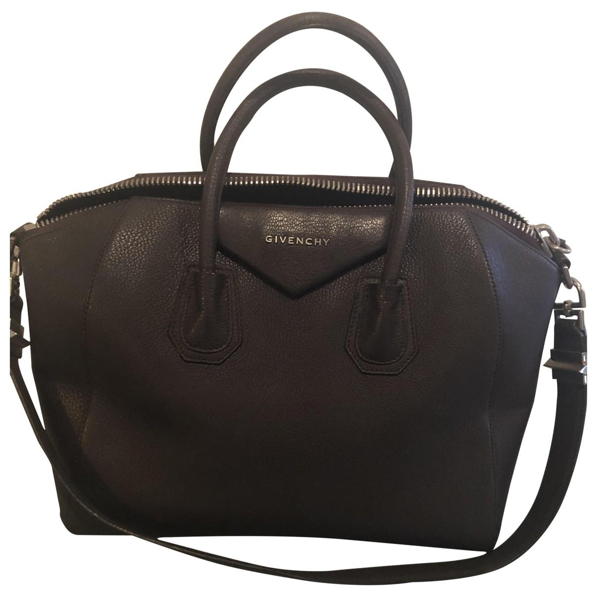 Givenchy Antigona Brown Leather handbag for Women \N