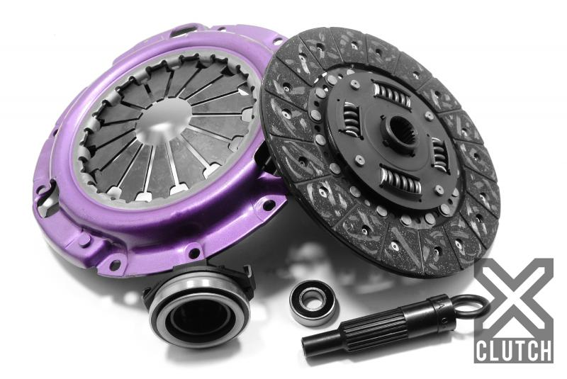 XClutch XKFD23011-1A Clutch Kit Stage 1 Single Solid Organic Clutch Disc