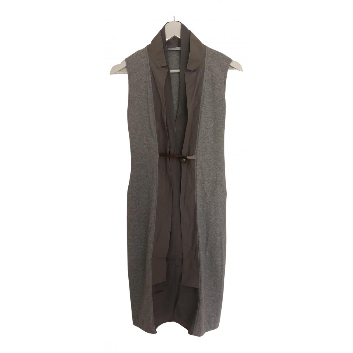 Fabiana Filippi \N Kleid in  Grau Baumwolle
