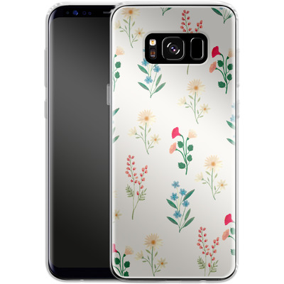Samsung Galaxy S8 Silikon Handyhuelle - Leafy Green von Iisa Monttinen