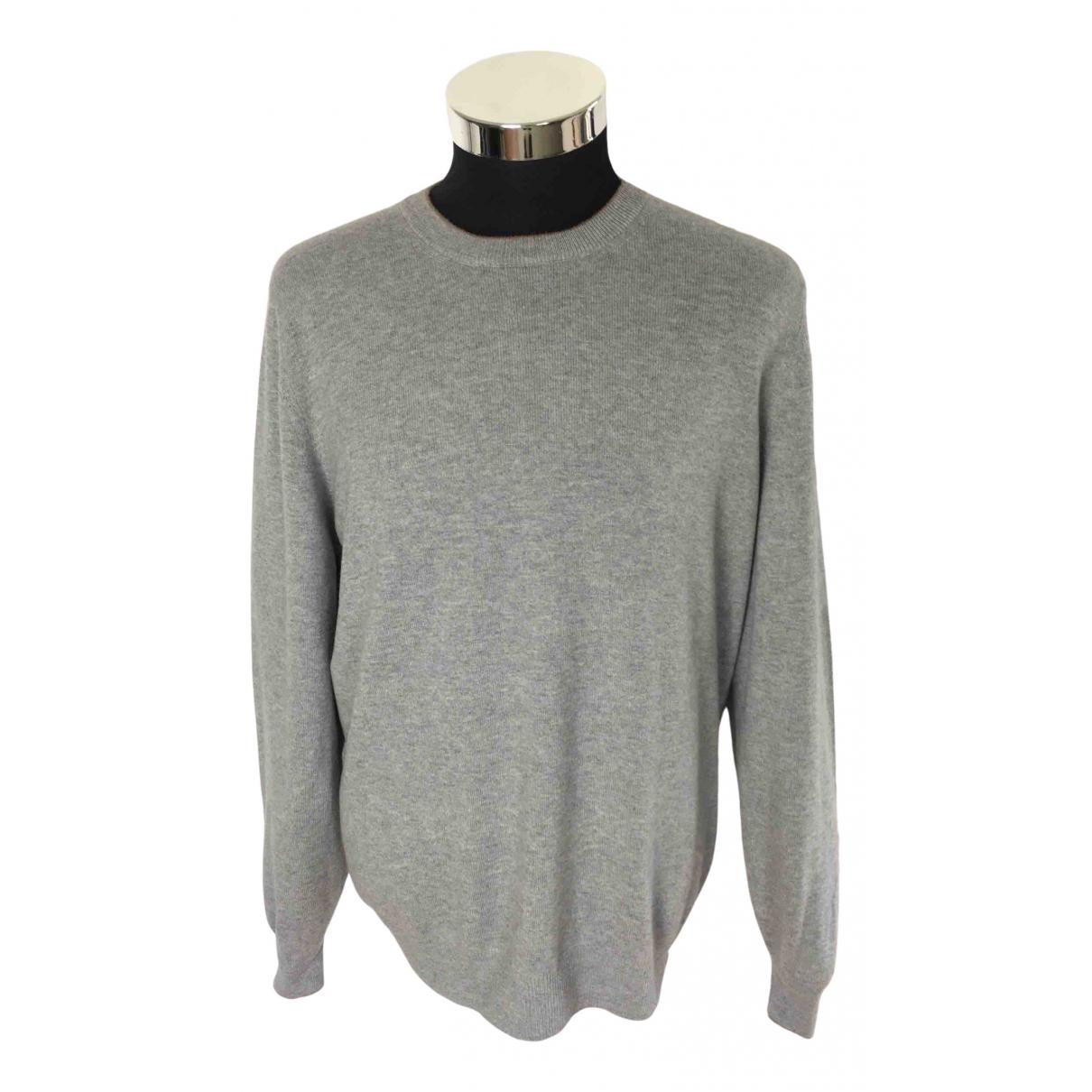 Brunello Cucinelli \N Grey Wool Knitwear & Sweatshirts for Men 52 IT