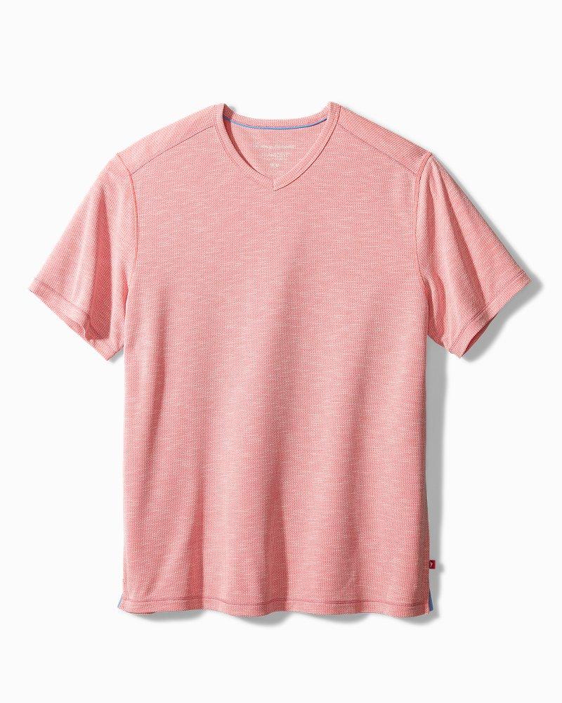 Big & Tall Tropicool Paradise IslandZone® V-Neck T-Shirt