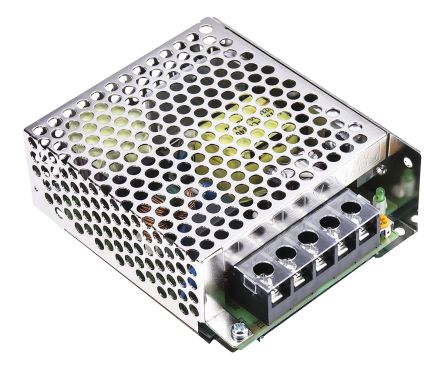 RS PRO , 60W Embedded Switch Mode Power Supply SMPS, 24V dc, Enclosed