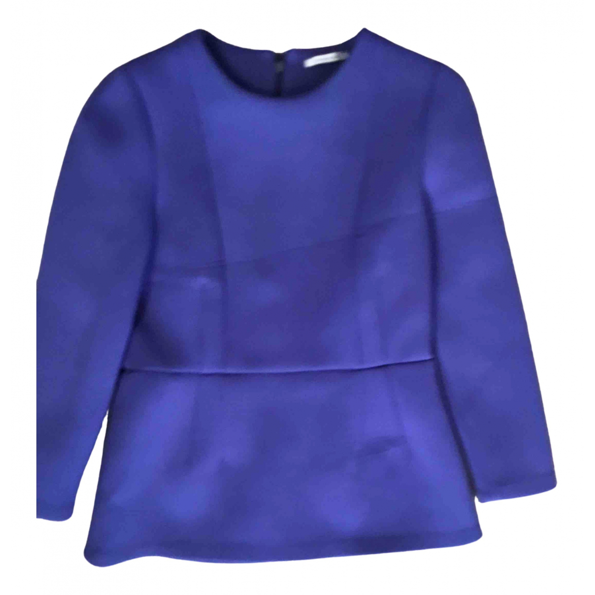 Bimba Y Lola - Top   pour femme en coton - bleu