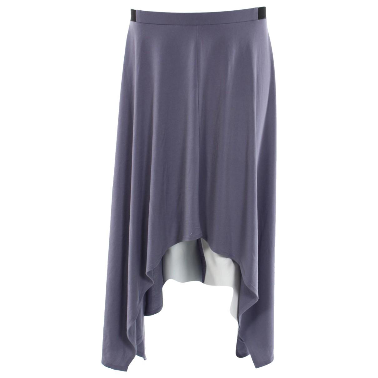 Vera Wang N Blue skirt for Women M International