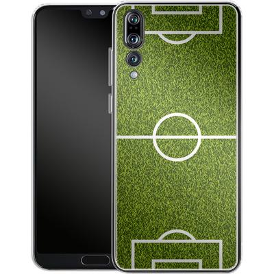 Huawei P20 Pro Silikon Handyhuelle - Soccer Field von caseable Designs