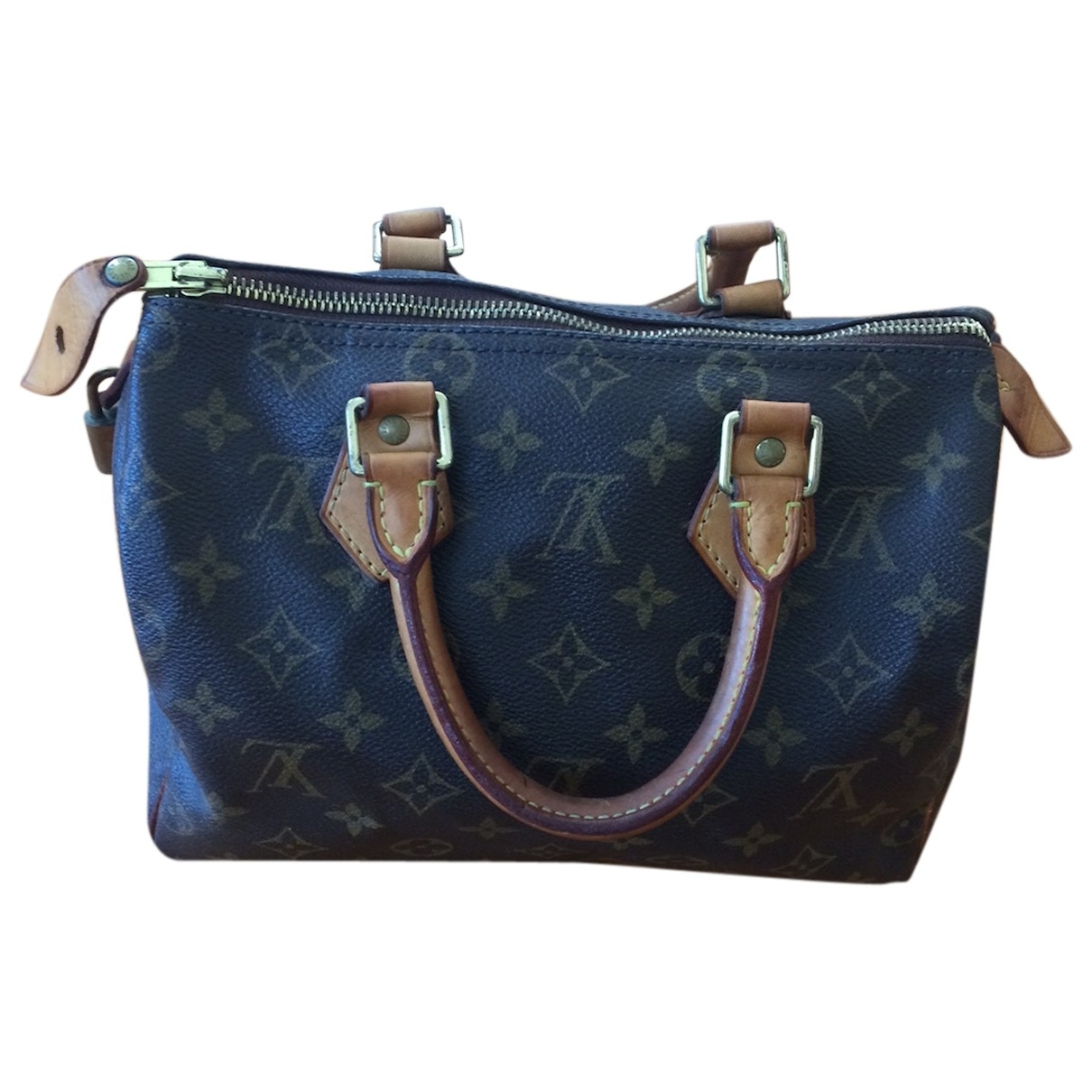 Louis Vuitton Speedy Brown Cloth handbag for Women \N