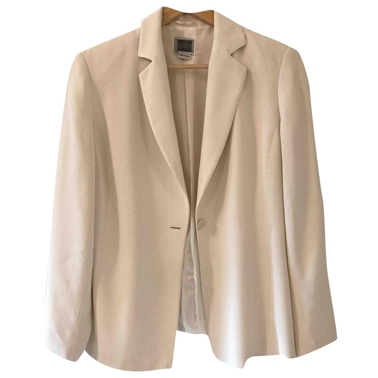 Krizia \N White dress for Women 44 IT
