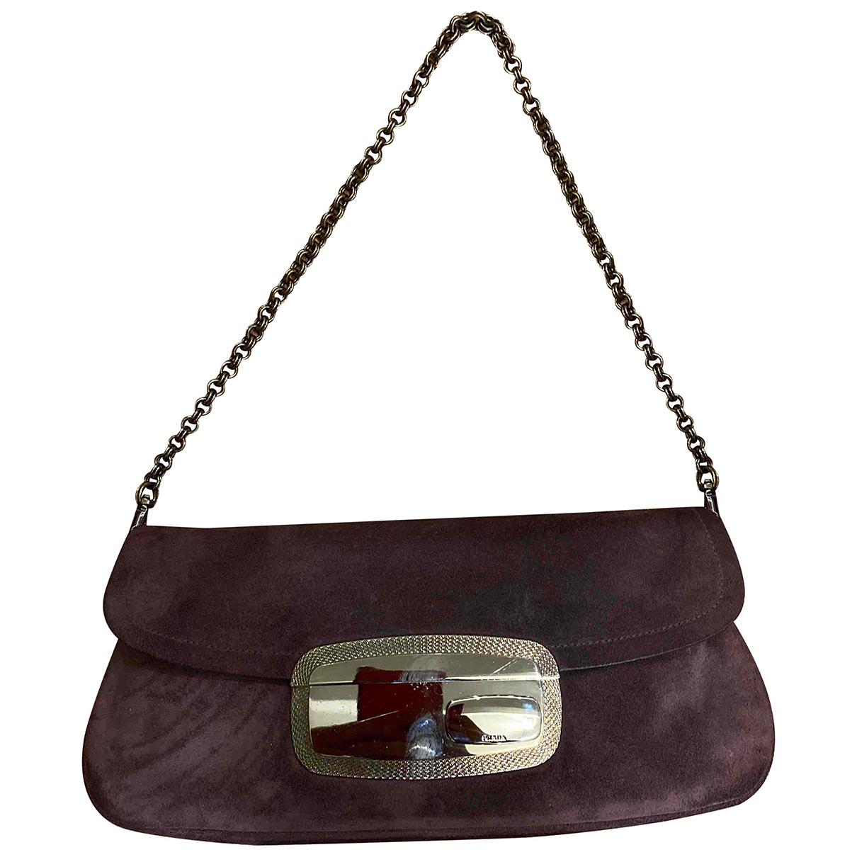 Prada \N Handtasche in  Lila Leder