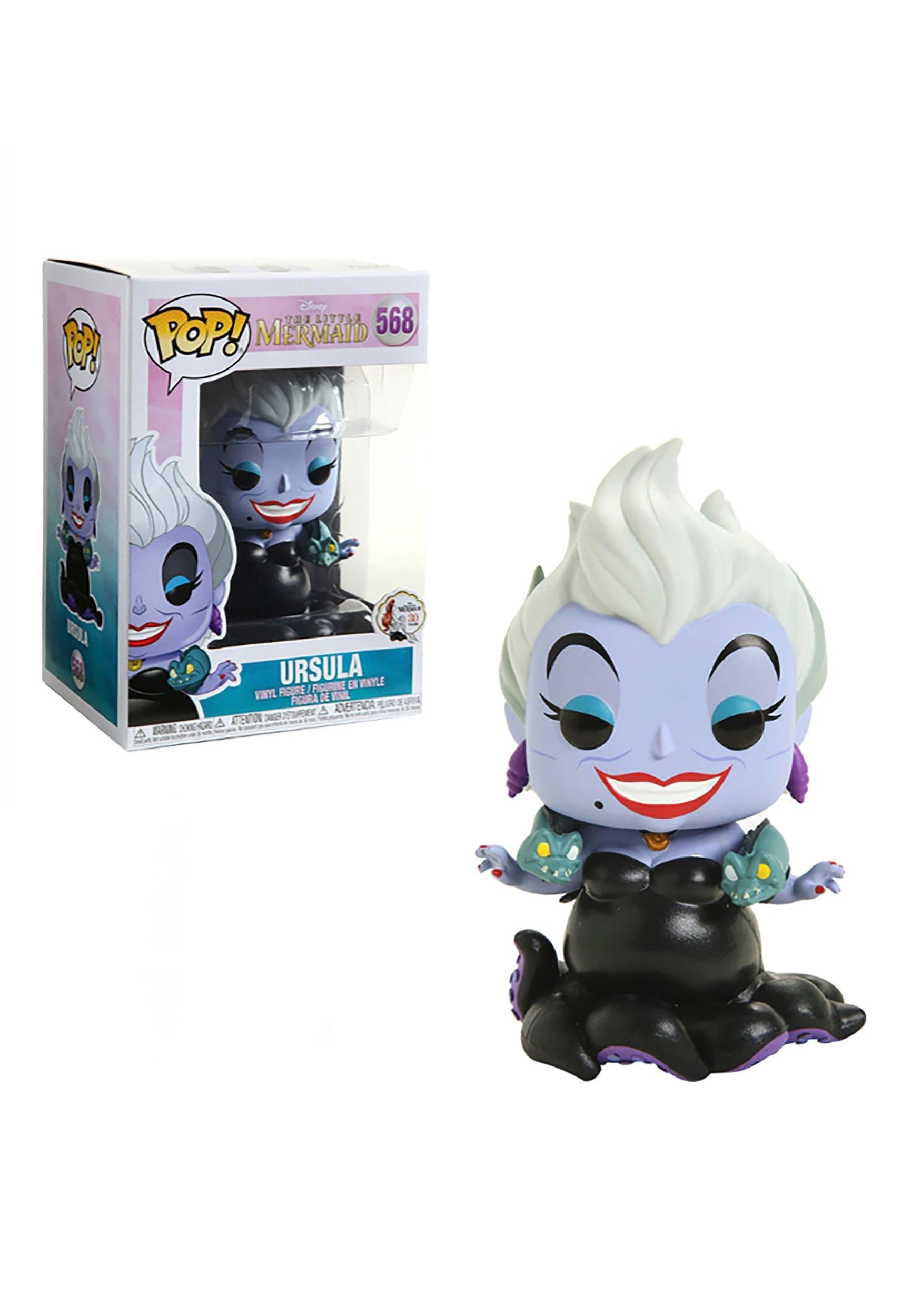 Pop! Disney: Little Mermaid- Ursula w/ Eels Collectible