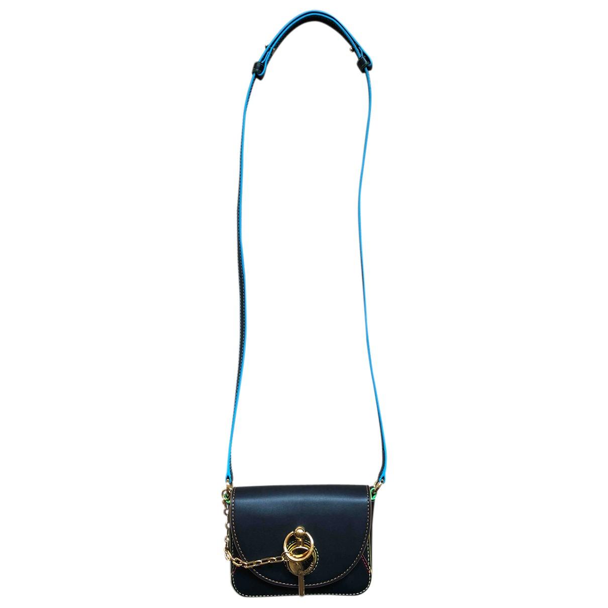 J.w. Anderson \N Handtasche in  Schwarz Leder