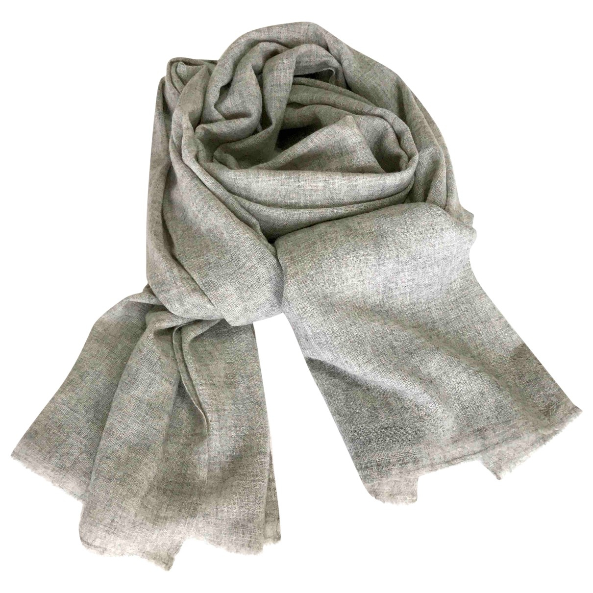 Autre Marque N Grey Cashmere scarf for Women N