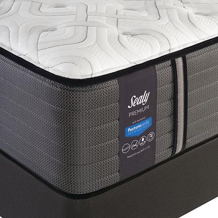 Sealy Macgruder Plush - Mattress + Box Spring, One Size , White