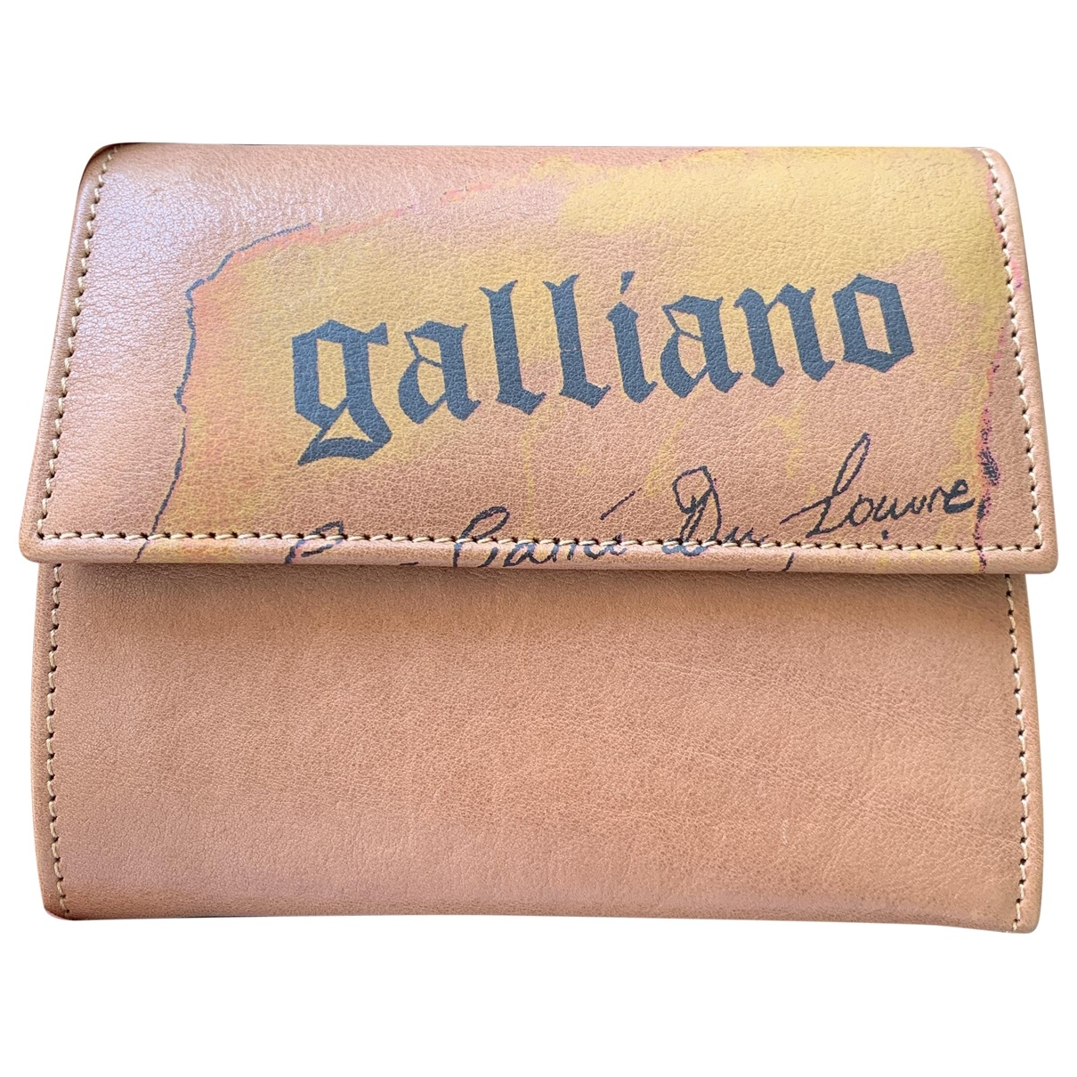 Galliano \N Leather wallet for Women \N