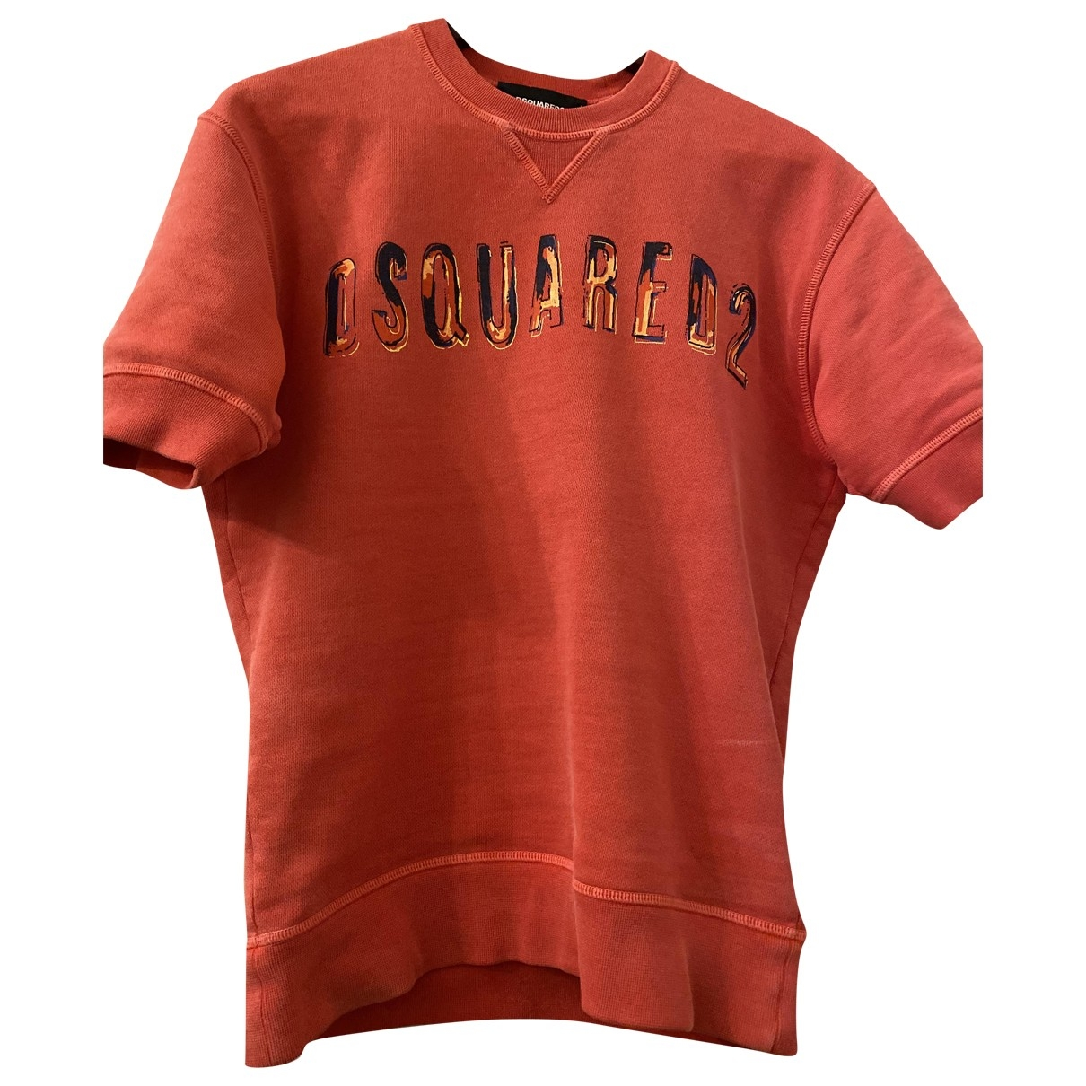 Dsquared2 \N T-Shirts in  Rot Baumwolle