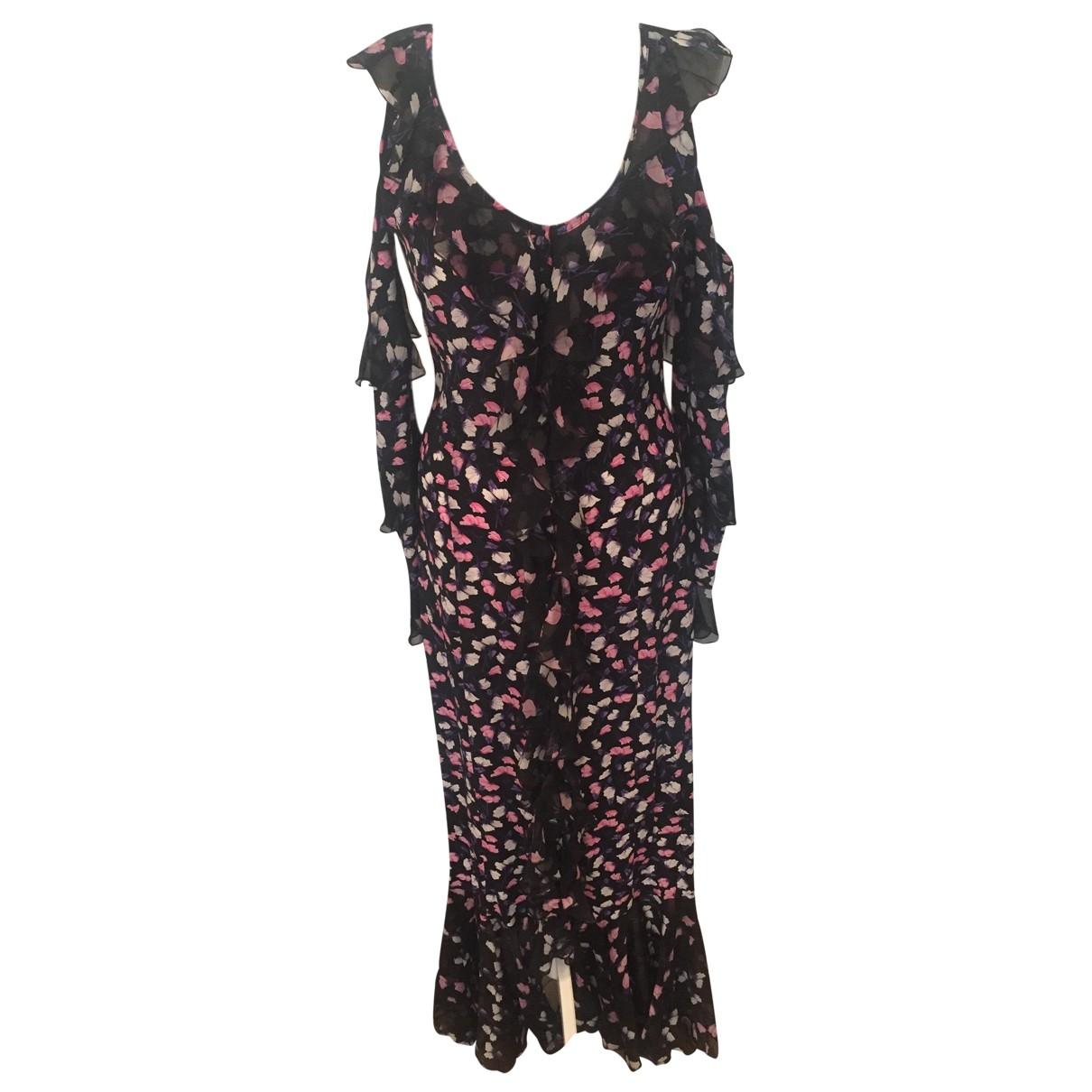Maxi vestido de Seda Raquel Diniz