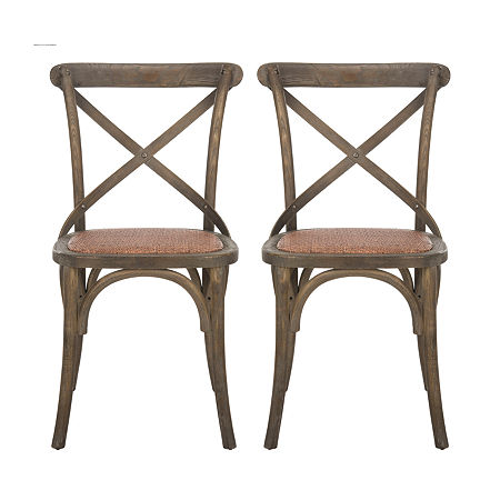 Franklin Dining Side Chair-Set of 2, One Size , Brown