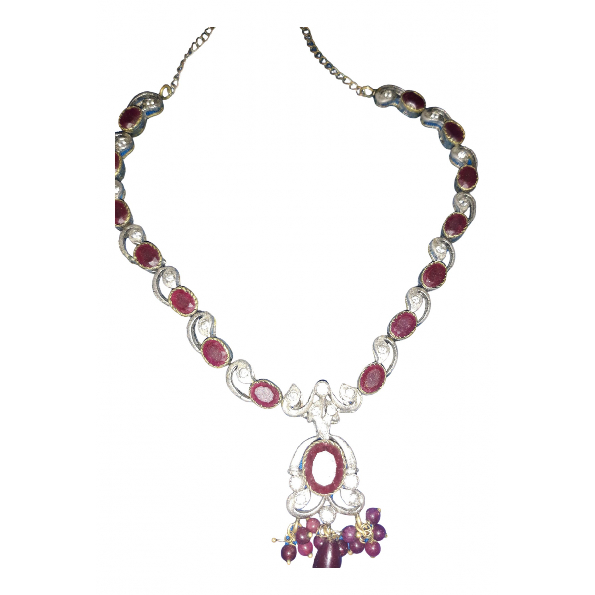Non Signé / Unsigned \N Multicolour Metal necklace for Women \N