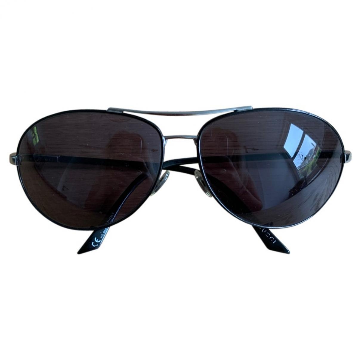 Gucci \N Sonnenbrillen in  Schwarz Metall