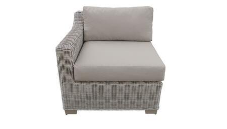 TKC038b-RAS Right Arm Chair - 1 Set of Beige