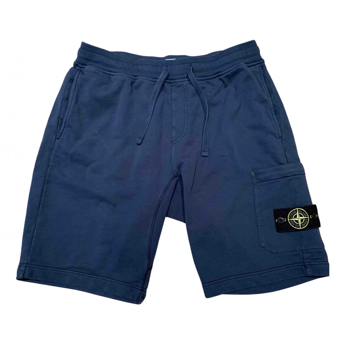 Stone Island \N Shorts in  Marine Baumwolle