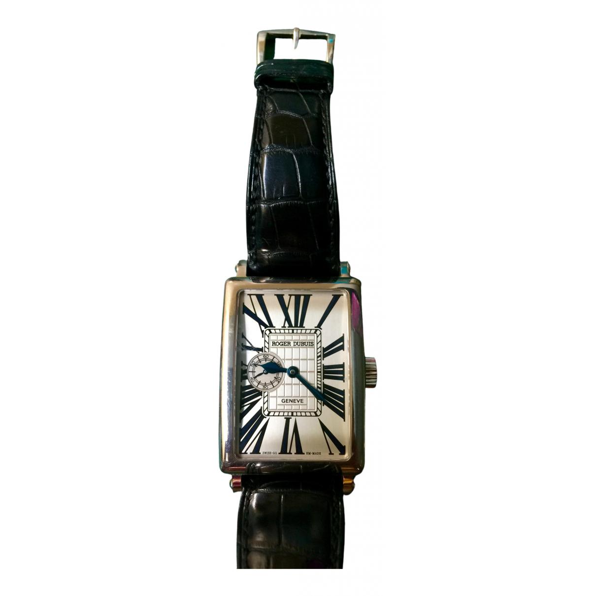 Relojes de Oro blanco Roger Dubuis