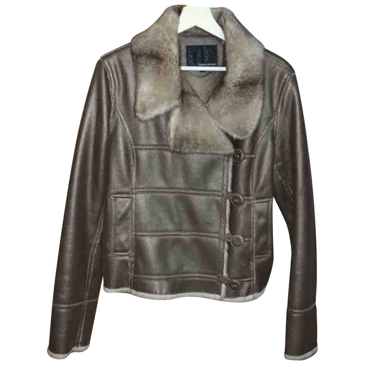 Non Signé / Unsigned \N Metallic coat for Women 38 FR