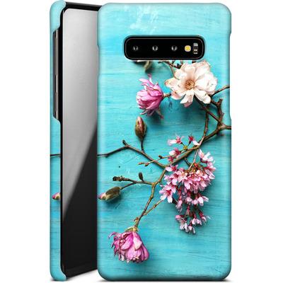 Samsung Galaxy S10 Plus Smartphone Huelle - Flowers of Spring von Joy StClaire